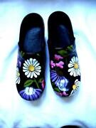 Hand Painted Clogs