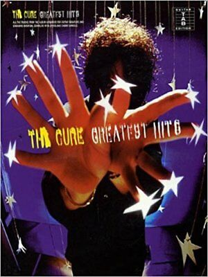 THE CURE GUITAR TAB / TABLATURE /***BRAND NEW***/ GREATEST HITS / CURE SONGBOOK