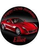 Sports Car Cake Toppers