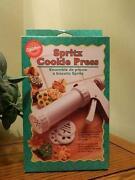 Spritz Cookie Press