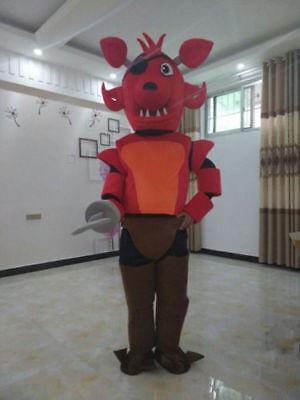 Five Nights At Freddy's FNAF Toy Fox Mascot Costume Cartoon Halloween Mascot](Fnaf Halloween Costumes)