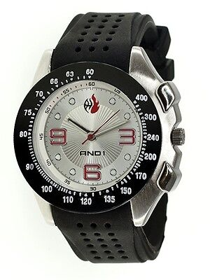 AND1 LOGO Dial Basketball 52002 Sports Men's Watch ~ BRAND NEW ~ GREAT -