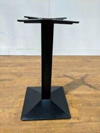 Black Pedrali Heavy Duty Cast Iron Pyramid Dining Table Base