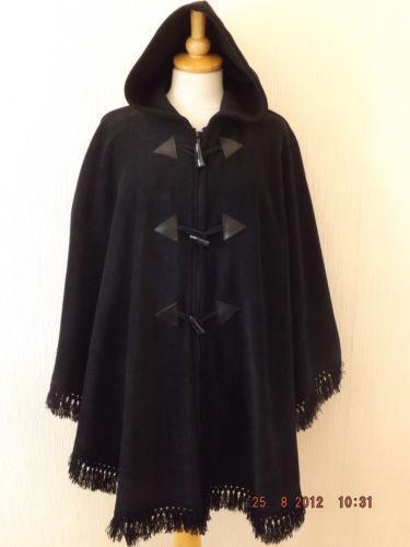 Hooded Poncho Women S Clothing Ebay