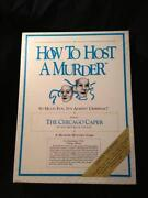 How to Host A Murder