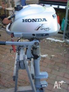 Honda 2hp outboard long shaft.