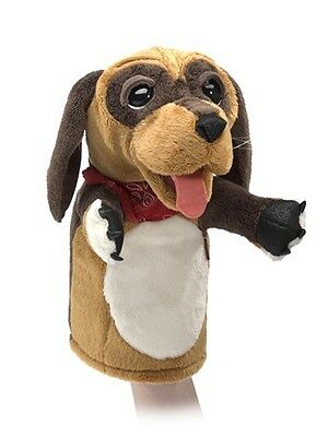 DOG Stage Puppet # 3100 ~ New for 2017!  ~ Free Shipping/USA ~ Folkmanis Puppets
