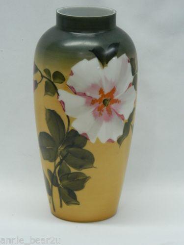 Vintage Hand Painted Vase Ebay
