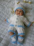 Hand Knitted Premature Baby Clothes