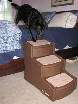 Pet Gear Easy Step III Pet Stairs, 3-Step for Cats/Dogs (Easy Step Iii Pet Stairs)