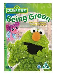 Sesame Street - Being Green (NEW & SEALED DVD, 2009)