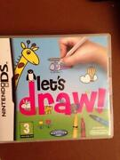 Lets Draw DS Game