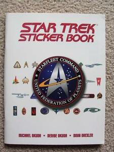 Star trek books ebay star trek sticker book fandeluxe Document