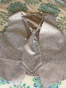 Mens Waistcoat and Cravat