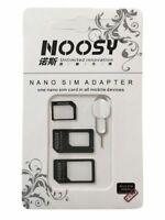 4 In 1 Noosy SIM Adapter nano to micro/regular & Eject Pin