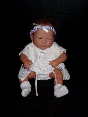 reborn berenguer baby girl doll