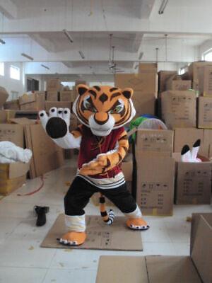 Tigress Kung Fu Panda Halloween Costume (Tigress Tiger Kung Fu Panda Mascot Costume Halloween COS Adult Fancy Dress)