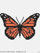 Crochet Afghan Patterns Butterfly