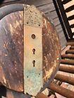 Brass Antique Door Push Plates