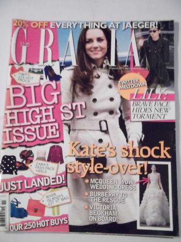 Grazia Magazine Ebay