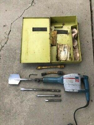 Bosch Electric Breaker Jack Hammer In Case Waccessories
