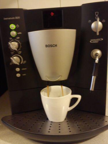 bosch benvenuto kaffeevollautomaten ebay. Black Bedroom Furniture Sets. Home Design Ideas