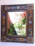 Talavera Mirror