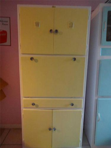 Retro kitchen units ebay for Vintage kitchen units uk