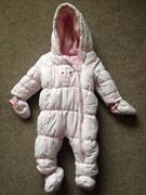 Baby Girl Snowsuit