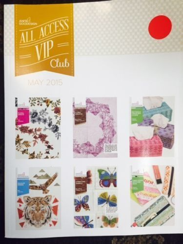 MAY 2015 ALL ACCESS Anita Goodesign Embroidery Designs CD   BOOK AND CD NEW