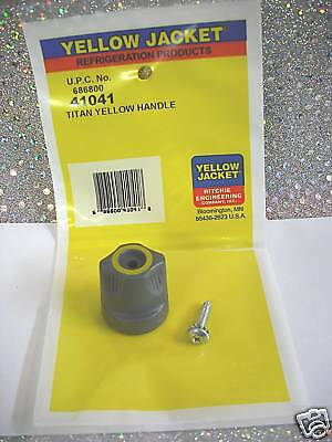 Yellow Jacket Titan Manifold Handle Yellow 41041