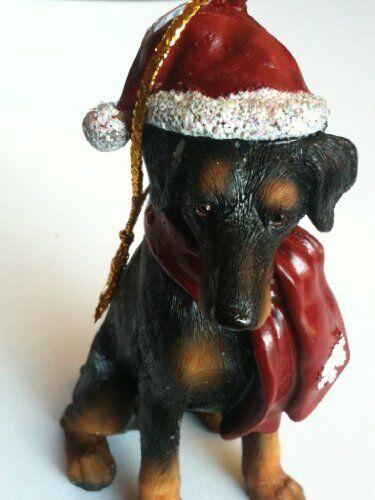 Littlegifts Dog Ornament (Doberman)