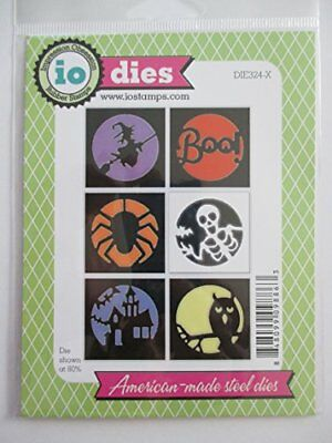 Halloween Cutout Circles Steel Die for Scrapbooking - Cutouts For Halloween
