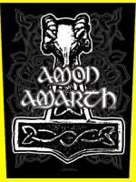 Amon Amarth Martello Thor Applicazione Per La Schiena 601521 - martell - ebay.it