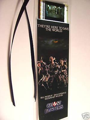 GHOSTBUSTERS Movie Memorabilia Film Cell Bookmark