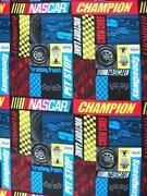 NASCAR Cotton Fabric