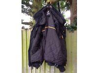 Rev'it Bastille Textile Jacket Black