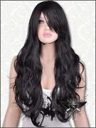 Long Black Curly Full Wig