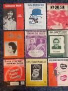 Sheet Music Lot