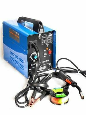 Electric 100 Amp Mig Wire Feed Fed Welding Welder Machine