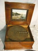 Antique Disc Music Box