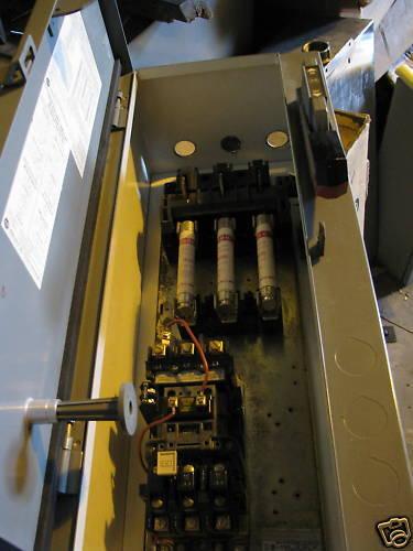 Allen Bradley Size 0 Fused Combo Motor Starter
