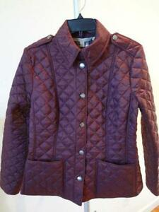 Burberry Coat - Trench, Winter, Wool, Puffer | eBay : burberry purple quilted jacket - Adamdwight.com
