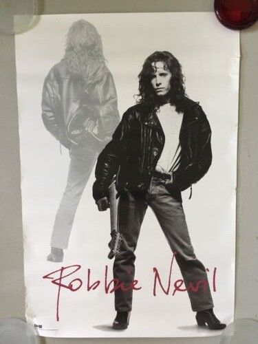 ROBBIE NEVlL - A Place Like This Era - 1988 Promo Poster - 24x36 - USA USED - $1.99