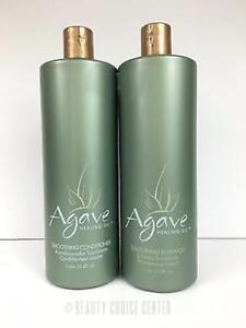 Bio Ionic Agave Smoothing DUO (Shampoo 33.8oz & Conditioner 33.8oz) Paraben-Free
