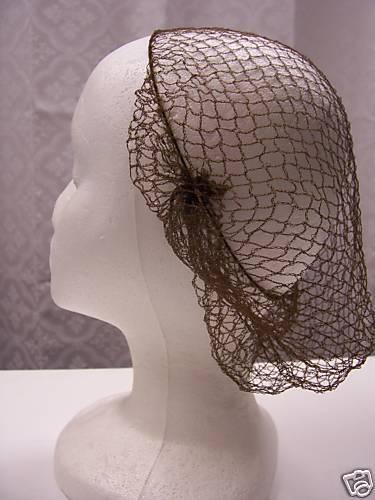 *HAIR NET* AUTHENTIC* 1860 DESIGN Lady Reenactor Civil War VICTORIAN Dress WOMEN