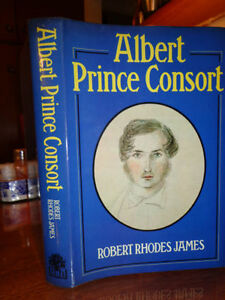 book ALBERT PRINCE CONSORT  biographyby Robert.R.James