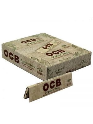 Ocb Rolling Papers - OCB Organic King Size Slim - 5 PACKS - Unbleached 32 Papers Pack Rolling