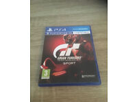 PS4 Gran Turismo Sport in mint condition like new