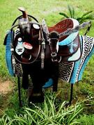 Western Barrel Saddle 15